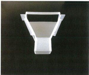 錠剤・カプセル充填装置排出部ジョーゴ (FGP-200)